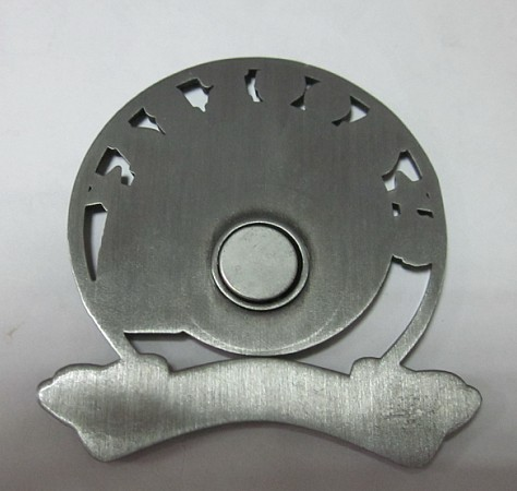 single round magnet