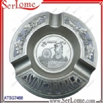 Metal Singarpore Ashtray