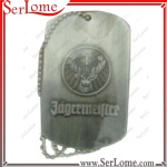 Antique Silver Dog Tag