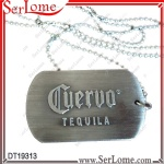 Embossed Tequila Dog Tag
